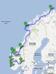 Compact Car Camping Essentials - Way Outdoors Tromso, Lofoten, Norway Roadtrip, Voyage En Camping-car, Norway Viking, Norway Language, Road Trip Europe, Travel Around Europe, Voyage Europe