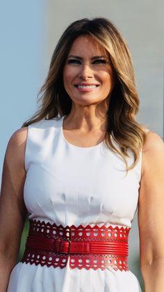 Beautiful One, Beautiful People, Milania Trump Style, Malania Trump, American First Ladies, First Lady Melania Trump, People Dress, Upper Body, Boss Lady