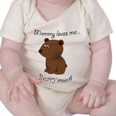 Another good one for Mother's Day even if it is technically for baby. It will make mommy smile!