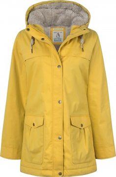 Seasalt Regenjacke Tiller Coat Mustard - gelb #hanseheld #seasalt #regenjacke…
