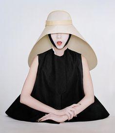 Xiao Wen & Liu Wen photo by Tim Walker the hat