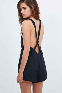 The Fifth Stella Playsuit in Ink