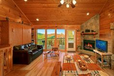 """This cabin is truly a """"Little Bearadise! With luxury decor and a view that is just gorgeous, you won't want to leave! http://www.alpinemountainchalets.com/cabin-detail/?cid=190"""