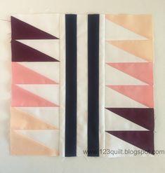 123 Quilt: OBX Sunrise - 2016 Paintbrush Studio New Block Blog Hop!