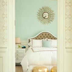 soft tones with gold accents bedroom 2014 Redecorating Resolutions  Just Decorate! Blog
