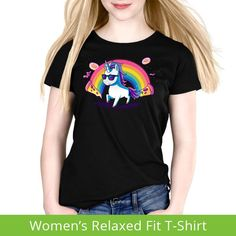 Heck Yeah! Women's Relaxed t-shirt model TeeTurtle