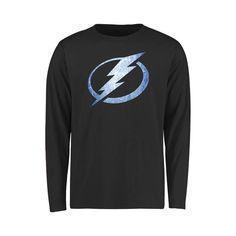 Tampa Bay Lightning Youth Pond Hockey Long Sleeve T-Shirt - Black - $24.99
