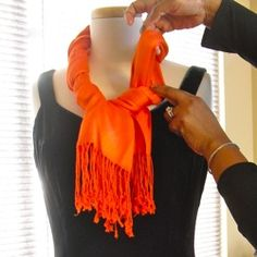 Scarf Tying Instructions | Scarf Tying « Lady Violette