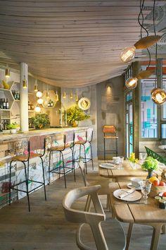 5 restaurantes y bares bonitos en Madrid