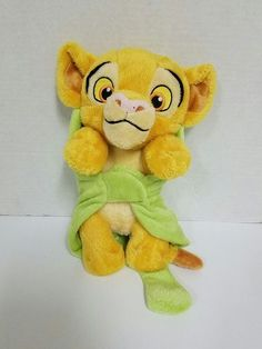 Disney Lion King Purring Baby Simba Cub w/ Leaf Blanket, Just Play Plush Stuffed | Toys & Hobbies, Stuffed Animals, Disney | eBay!