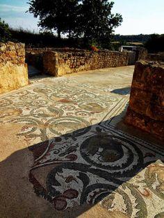 Villa del Casale, III-IV d.C. - Mosaici all'aperto