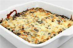 Vegetarisk lasagne   med billede Endnu en opskrift fra Alletiders Kogebog blandt tusindevis opskrifter.
