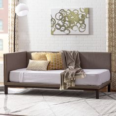 You'll love the Harlow Mid Century Daybed at AllModern - With Great Deals on modern Bedroom  products and Free Shipping on most stuff, even the big stuff.