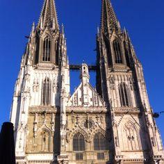 Regensburg - Germany Regensburg Germany, Notre Dame, Cathedral, Spaces, Building, Travel, Voyage, Buildings, Cathedrals
