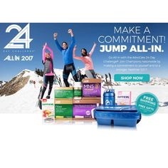 I am All In on January 2! I would love to talk to you about it. www.advocare.com/12124966