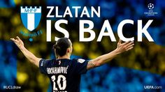 Zlatan asks, Zlatan receives. Today: PSG draws Malmö FF. Zlatan playing in Sweden again. He said he wanted it…and the universe doesn't turn Zlatan down. It's scared. Sport Football, Uefa Champions League, Psg, Sayings, Sports, Sweden, Carnival, Target, Universe