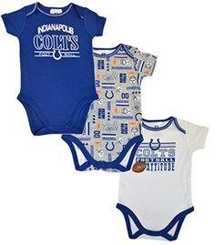 Compare prices on Indianapolis Colts Onesie from top sports fan gear  retailers. Baby NFL Gear 2b663ee19