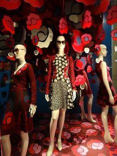 """Diane von Furstenberg, NYC,""""The Trees are in Bloom"""", pinned by Ton van der Veer"""