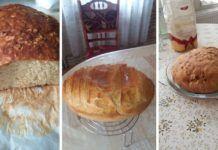 Pofonegyszerű szódabikarbónás kenyér, élesztő nélkül! Tej, Pudding, Bread, Desserts, Food, Yogurt, Meal, Custard Pudding, Deserts