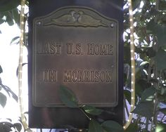 Used to work by Jim Morrison's house - Persona Paper