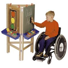 Jonti-craft 3 Way Adjustable Childrens Easel Set