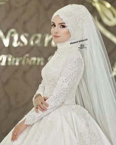 Ece DEMİR shooting a square photo from the opening of the model . Hijabi Wedding, Muslimah Wedding Dress, Muslim Wedding Dresses, Muslim Brides, Bridal Dresses, Wedding Gowns, Bridesmaid Dresses, Most Beautiful Dresses, Beautiful Hijab