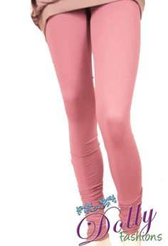 Soft 4-way Lycra Stretchable Legging in Pink