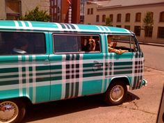 plaid bus vw jus' needs a set of allots