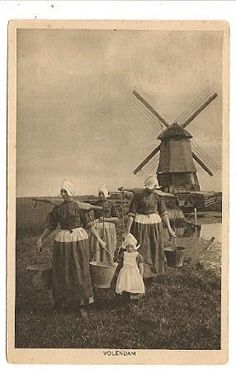 Neat old Dutch Picture... what I would vision my Grandparents family to look like..