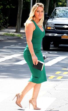 Hilary Duff from The Big Picture: Today's Hot Pics  Green supreme! The Younger…
