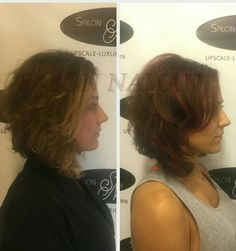 Beautiful Chocolate Cherry color added depth, dimension and shine for a stunning new look! Make your appointment today by calling 803-327-9242