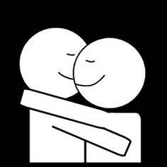 Pictogram: snuggle