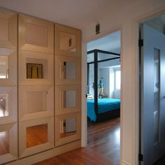 contemporary hall by MJ Lanphier