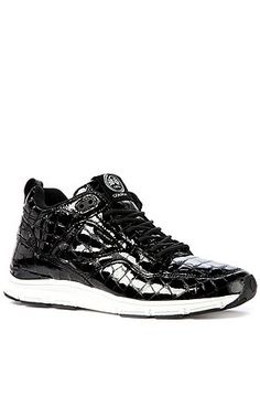 The 35 Lite MP Sneaker in Black Croc  receive a discount at http://www.karmaloop.com/ when you use repcode FRESHYFRESH19 at the checkout