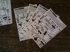 ::INKY SOLUTIONS:: Huck magazine Letraset transfers