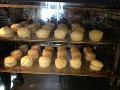 Scones in the owen for our tearoom at the Museum of Copenhagen!