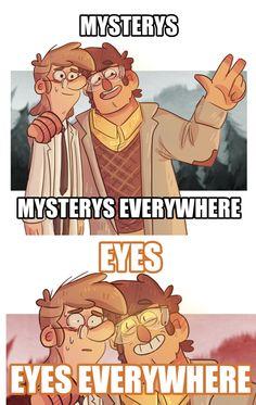 Gravity Falls,фэндомы,McGucket,GF Персонажи,Stanford Pines