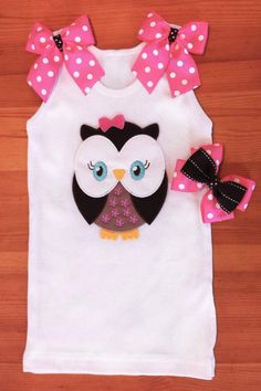 Ella the Owl tank by ChasenLondon on Etsy, $28.00