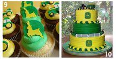 Paint N Parties Thursdays Theme A John Deere Birthday cakepins.com