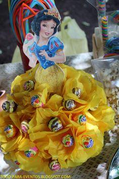 Todo Para Eventos: fiesta tematica de princesas