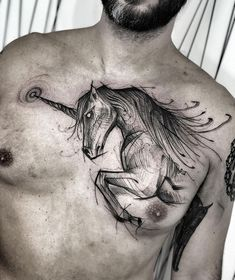 Image may contain: one or more people Black Girls With Tattoos, Black Tattoos, Girl Tattoos, Tattoos For Guys, Incredible Tattoos, Beautiful Tattoos, Chess Tattoo, Unicorn Tattoos, Horse Tattoos