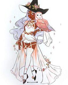 Secretive witch by Vicki Sigh