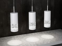 You can see that the Carmelia fixtures throw an elegant organic pattern of light. This family is trendy and modern.