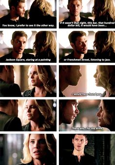 "#TheOriginals 2x22 ""Ashes to Ashes"" - Klaus and Cami"