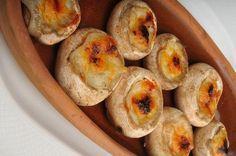 Cheddar Cheese Mushrooms