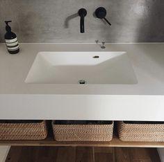 Powder Room Design, Wash Stand, Natural Interior, Laundry Room Design, Washroom, Bathroom Renovations, Kitchen Interior, Interior Architecture, Home Goods