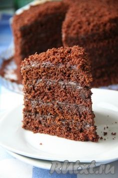 Chocolate Ice Cream, Chocolate Cake, Chocolate Lovers, Dessert Recipes With Pictures, Sweet Recipes, Cake Recipes, Cake & Co, Cake Business, Food Crafts