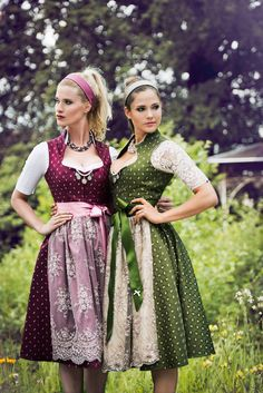 Alpenherz Dirndl. Top 5 favorite dirndl designers autumn winter 2016. ludwigs.nl