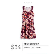 Stitch Fix: French Grey Arielle Knit Dress $54