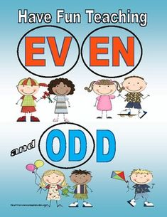 Great visual representation of Odd and Even